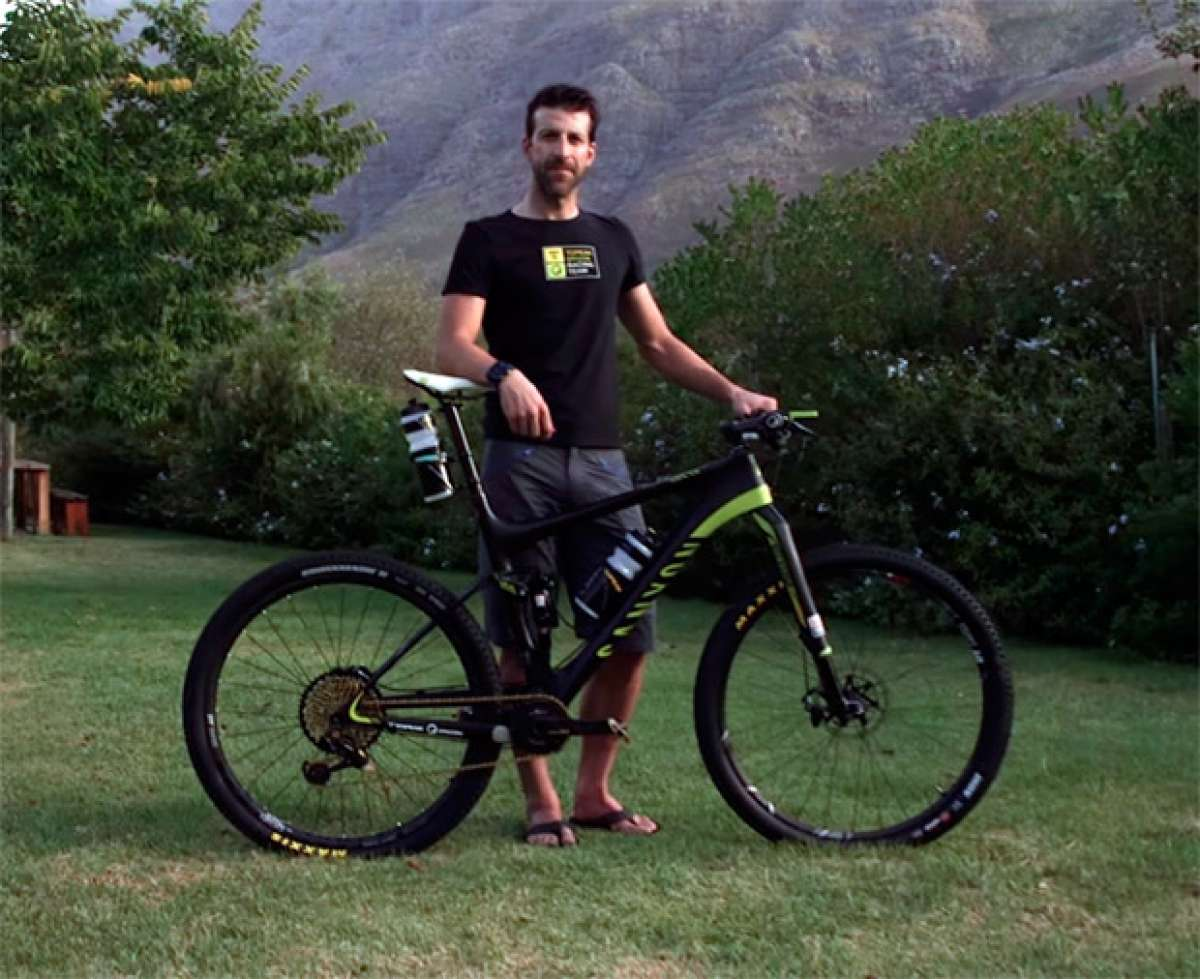 La Canyon Lux CF de Alban Lakata para la Cape Epic 2017, al detalle