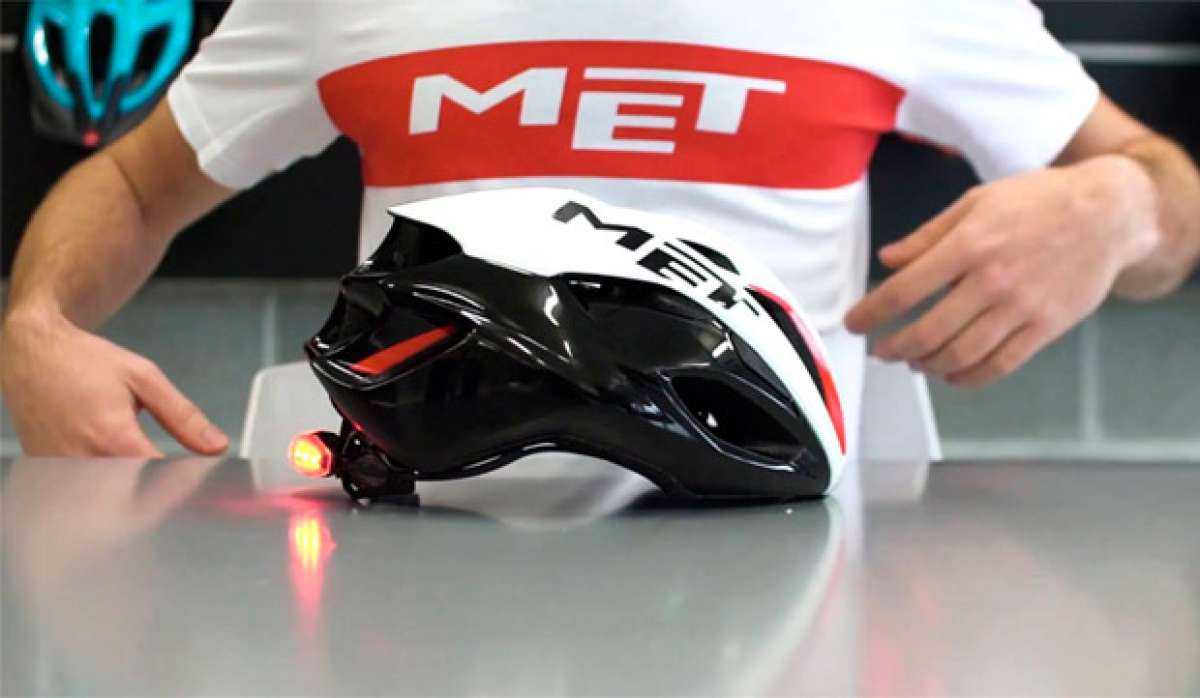 El aerodinámico y ultraligero casco MET Rivale, al detalle