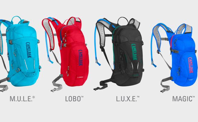 Las mochilas CamelBak M.U.L.E., L.U.X.E., Lobo y Magic, al detalle