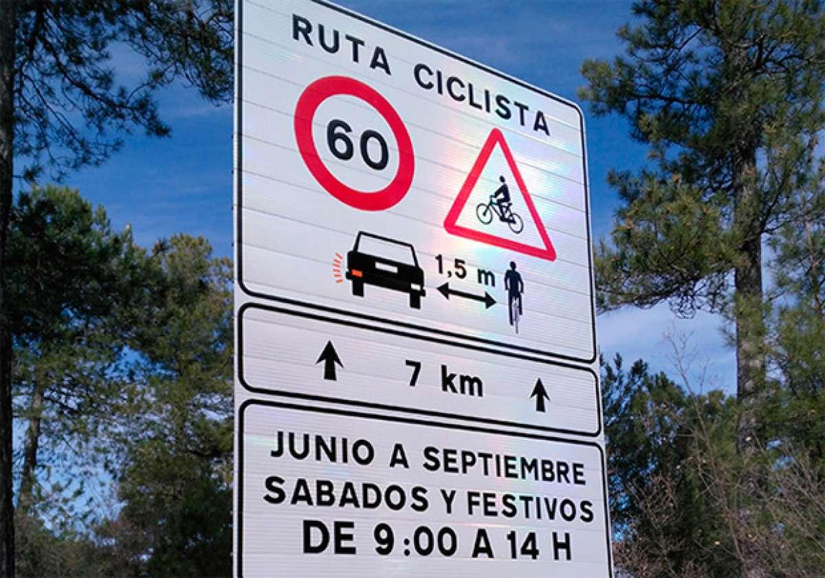 La DGT anuncia más restricciones de velocidad para vehículos en las vías de mayor afluencia de ciclistas