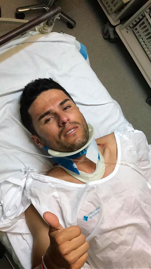 En TodoMountainBike: Diego Tamayo, vencedor de la Titan Desert y Titan Tropic, atropellado por un conductor drogado en Seròs (Lleida)