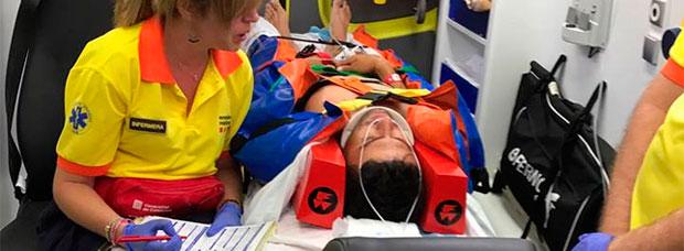 Diego Tamayo, vencedor de la Titan Desert y Titan Tropic, atropellado por un conductor drogado en Seròs (Lleida)