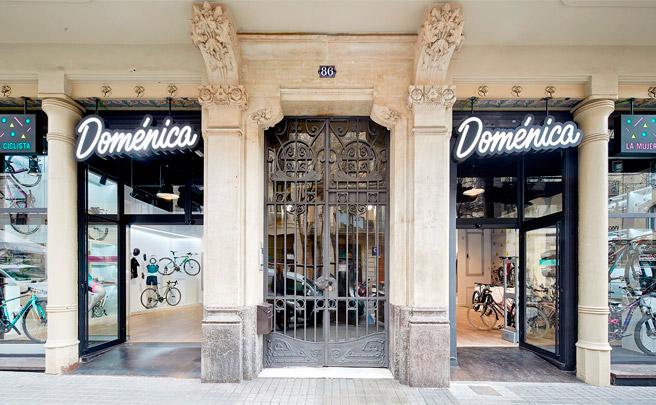 Doménica, la primera tienda especializada de España exclusiva para mujeres ciclistas
