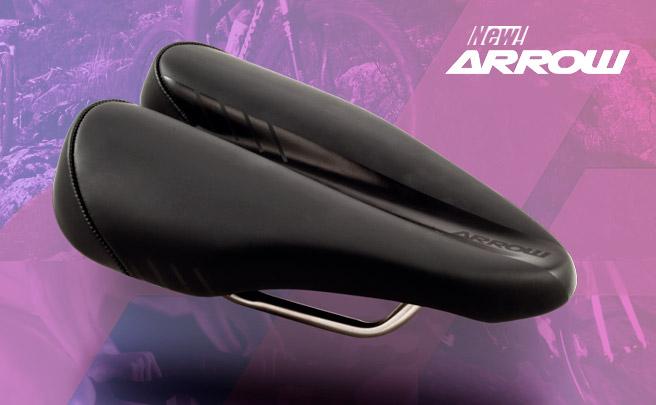 Nuevo diseño (y ventajas) para el sillín sin punta Duopower Arrow