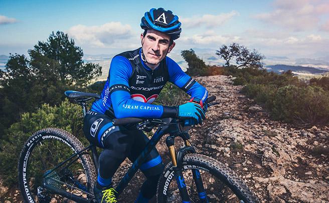 """Entrevista a Carlos Coloma: """"Quiero preparar el Campeonato del Mundo en pruebas como la Andalucía Bike Race"""""""