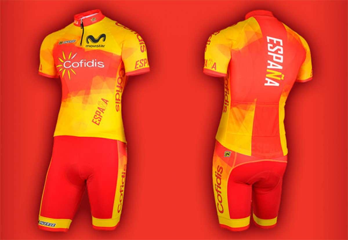 La equipación Inverse de la selección española de ciclismo para 2018, ya a la venta