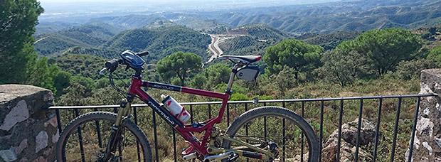 La foto del día en TodoMountainBike: 'Sierra Cordobesa desde una ermita'