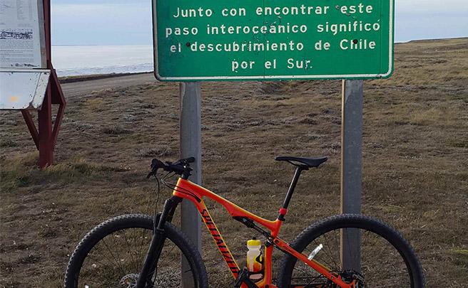 La foto del día en TodoMountainBike: 'Estrecho de Magallanes'