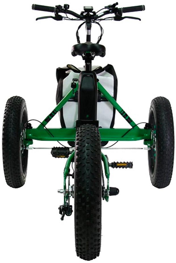 En TodoMountainBike: Etnnic FAT Trike, un triciclo de ruedas gordas para disfrutar del monte sin limitaciones