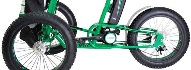 Etnnic FAT Trike, un triciclo de ruedas gordas para disfrutar del monte sin limitaciones