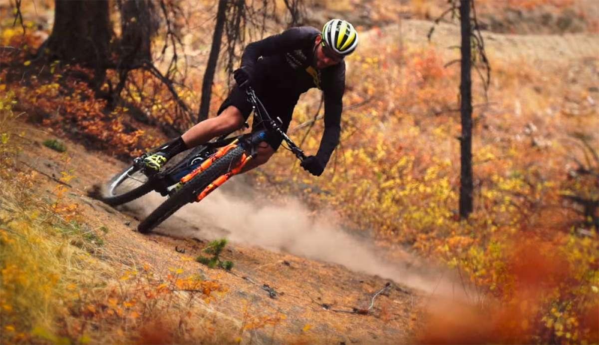 Evan Guthrie, dos bicicletas, y el medidor de potencia Race Face Cinch
