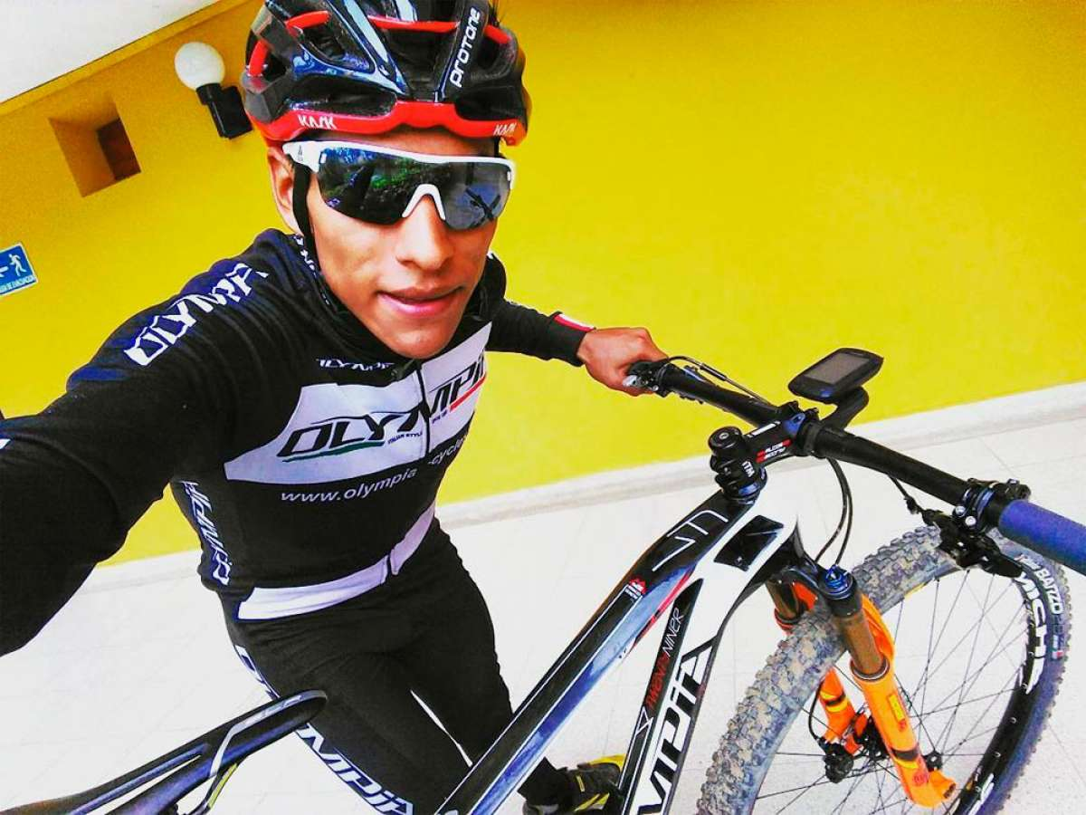 Ever Alejandro Gómez, la nueva cara del Olympia Factory Cycling Team
