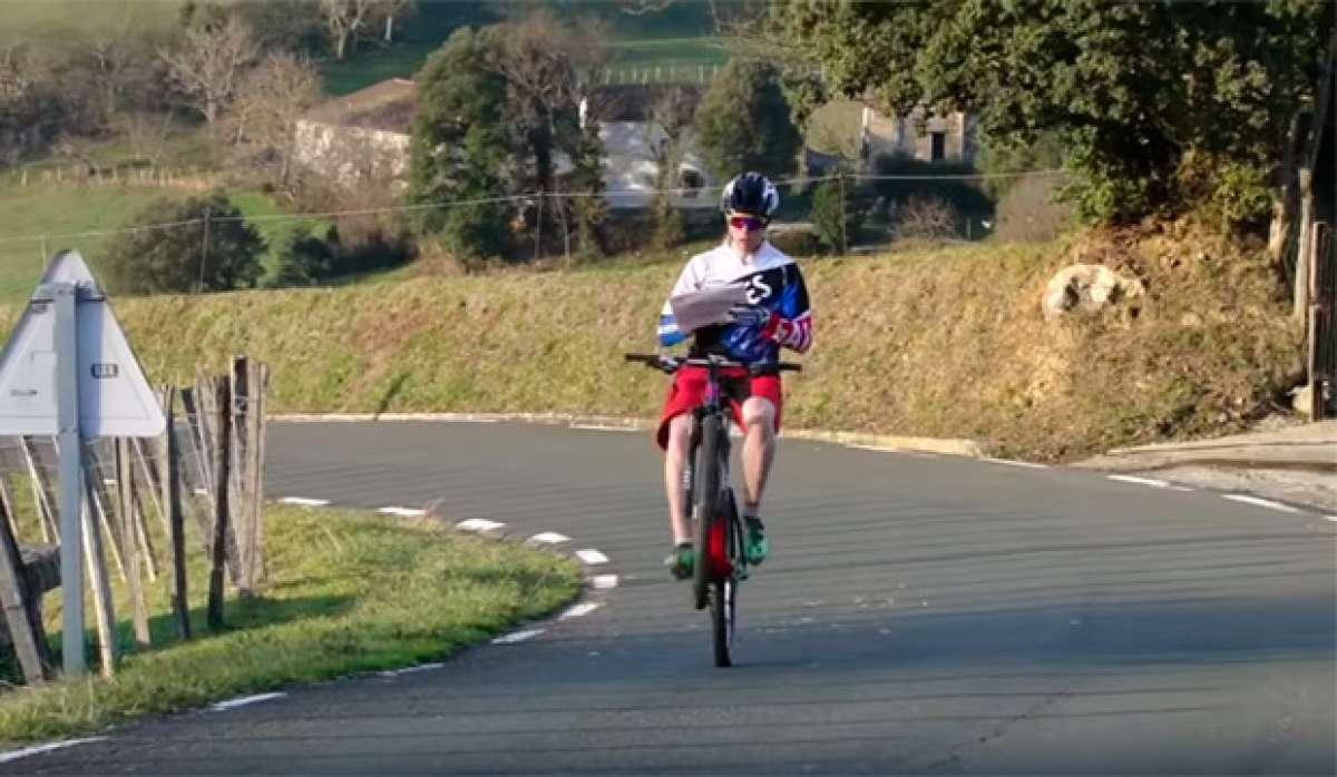 Everesting Wheelie Challenge, el nuevo reto de Markel Uriarte para 2017