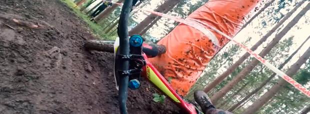 Descensos y caídas a gogó con Fabio Wibmer en el Bikepark Wurbauerkogel (Austria)