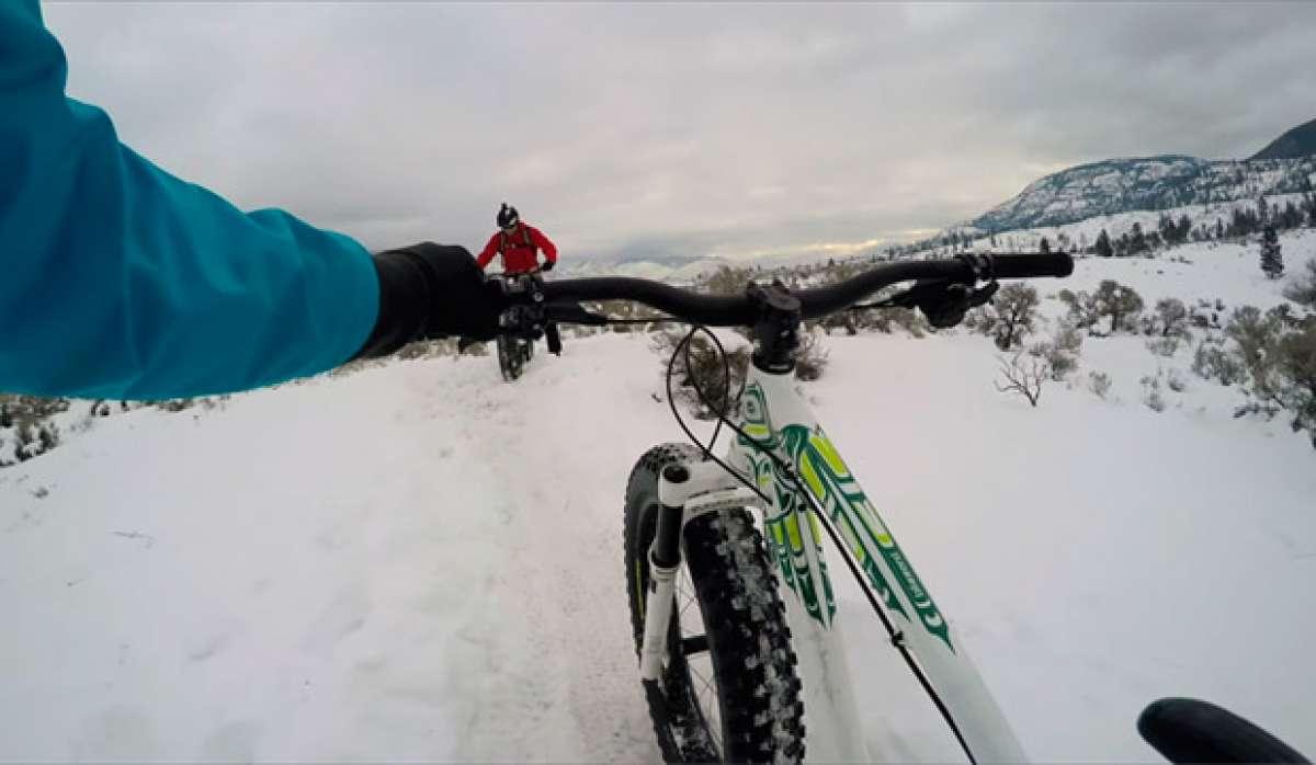 En TodoMountainBike: Sesión invernal de Freeride sobre 'Fat Bikes' con Geoff Gulevich y compañía