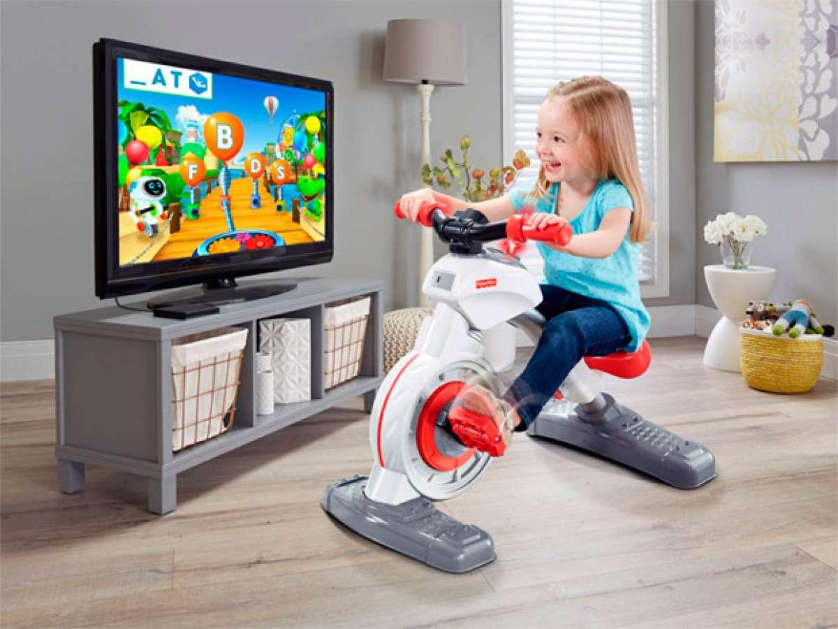 Fisher-Price SmartCycle, un juguete saludable para que los niños aprendan mientras pedalean