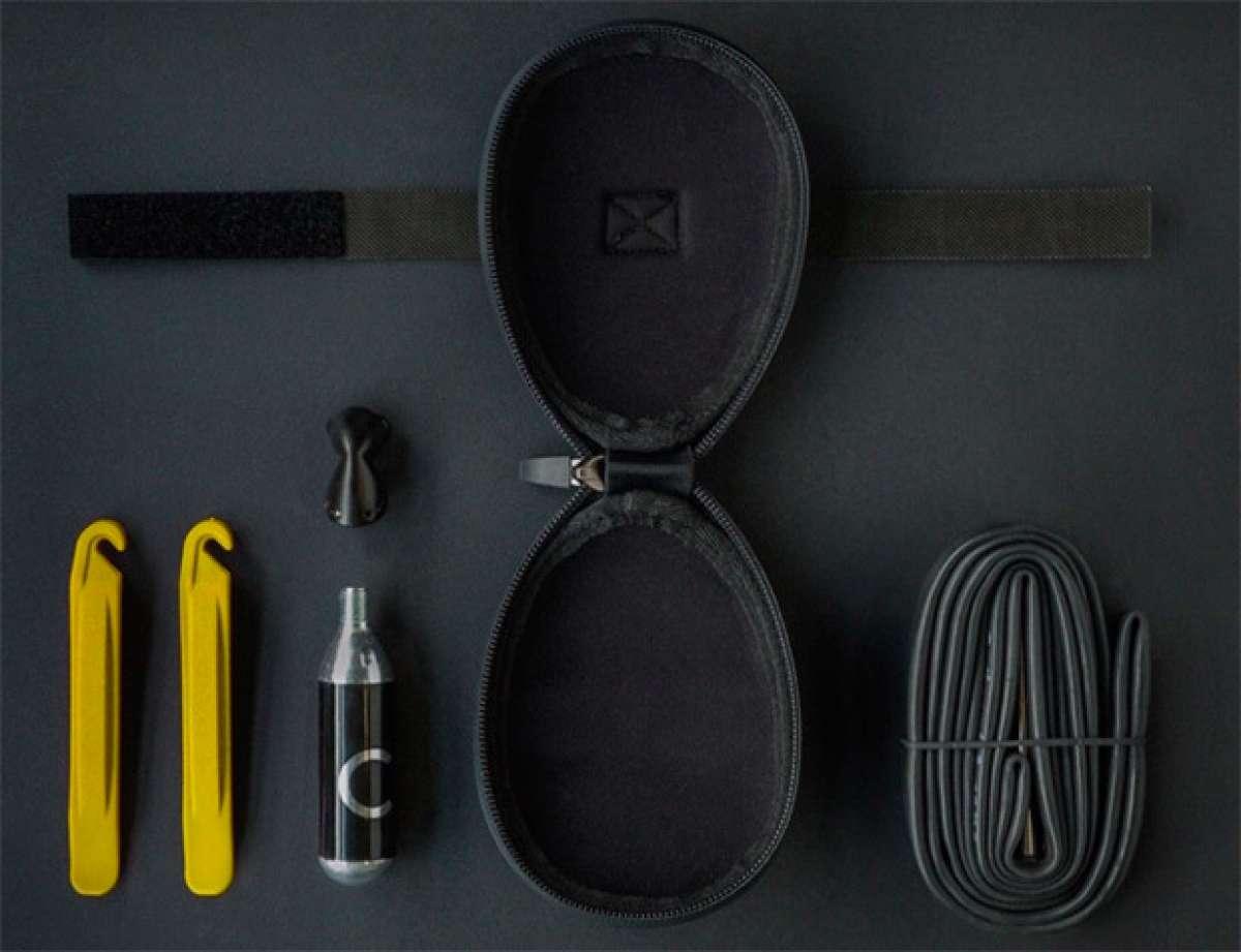 "Fi""zi:k Saddlebag 00, una bolsa de sillín compacta, impermeable y muy práctica"