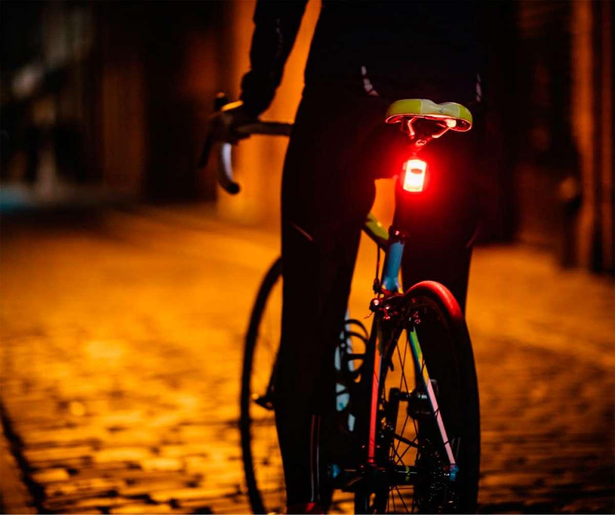 See Sense ACE, el foco con inteligencia artificial que vela por la seguridad del ciclista
