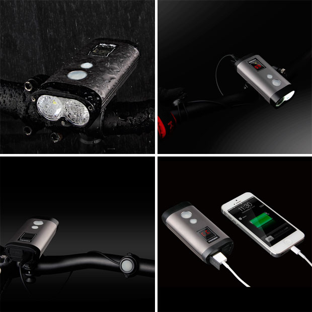 En TodoMountainBike: Ravemen PR1200, un económico foco con luz de doble alcance, indicador de batería y 1.200 lúmenes de potencia