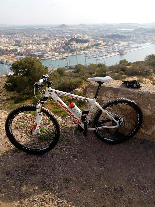 En TodoMountainBike: La foto del día en TodoMountainBike: 'MTB en Cartagena'