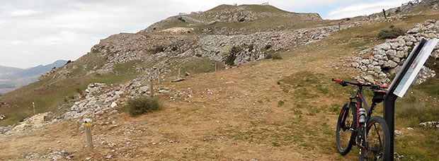 La foto del día en TodoMountainBike: 'Fortaleza de Santa Engracia'