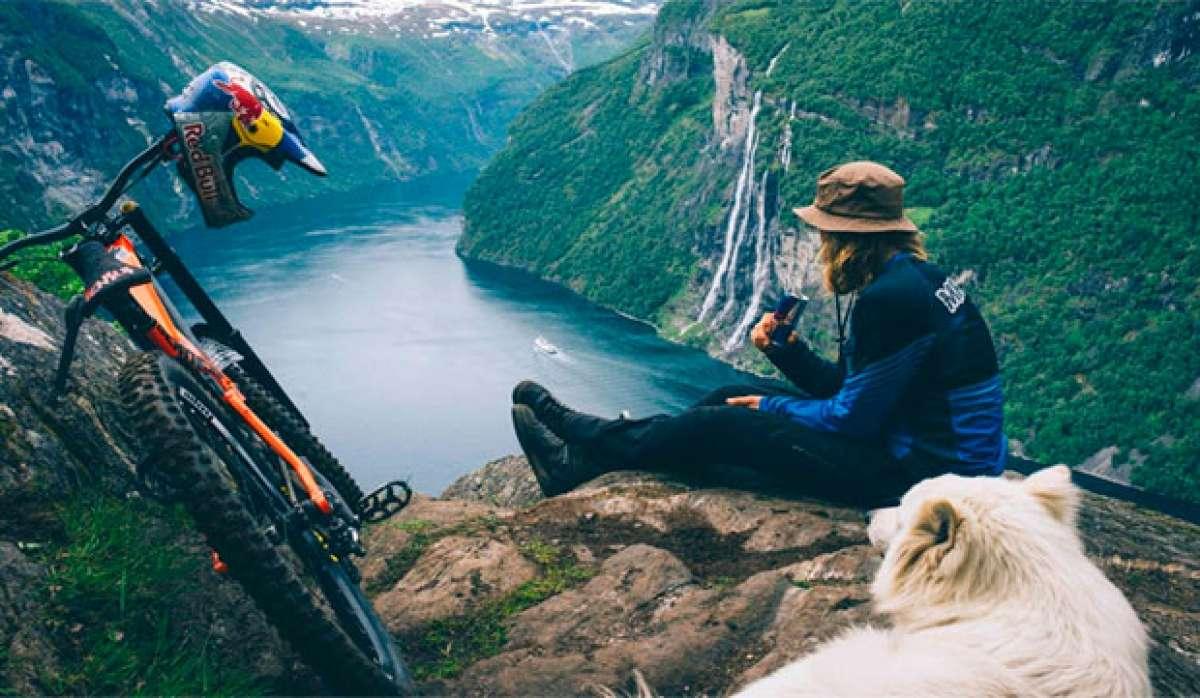 En TodoMountainBike: Rodando por el fiordo de Geiranger (Noruega) con Mads André Haugen y compañía