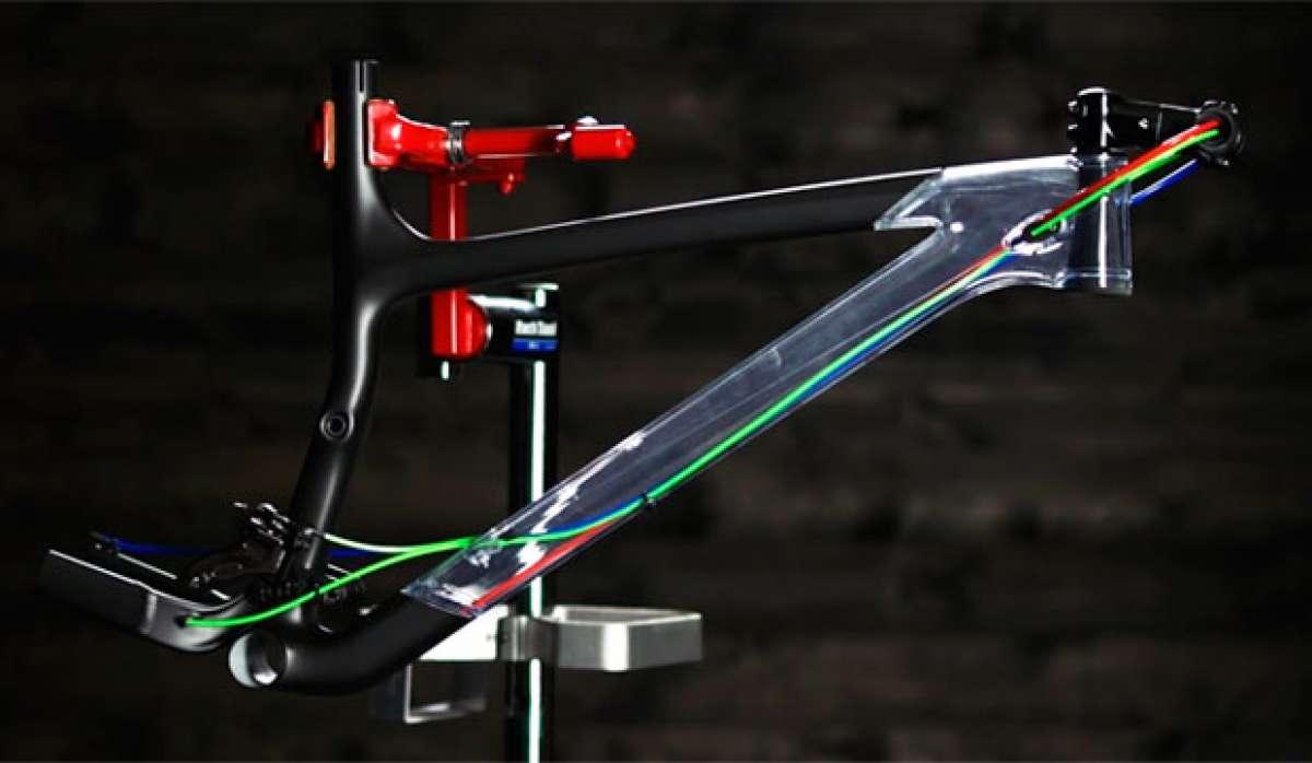 Así funciona el sistema de cableado interno Trek Control Freak