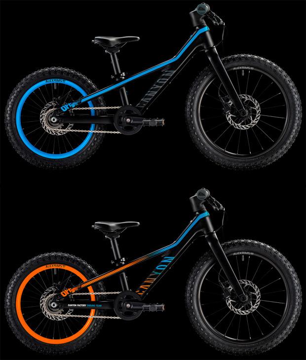 En TodoMountainBike: Canyon Kids, nueva (y espectacular) gama de bicicletas infantiles de la marca alemana