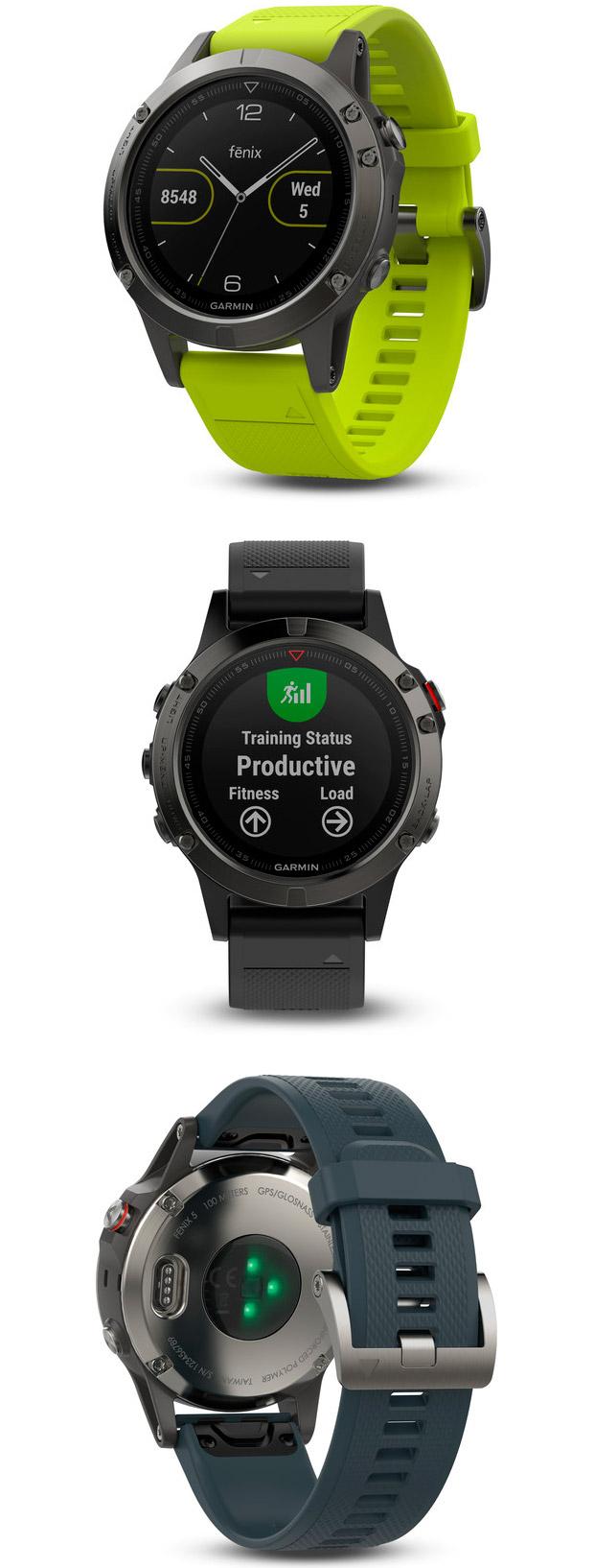 En TodoMountainBike: Nueva gama Garmin fēnix 5, ahora con tres modelos diferentes para adaptarse a todo tipo de usuarios