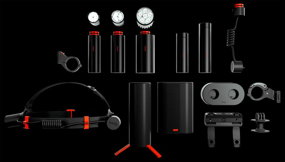 En TodoMountainBike: Knog PWR, luces para bicicletas en un práctico sistema modular de funcionalidad actualizable