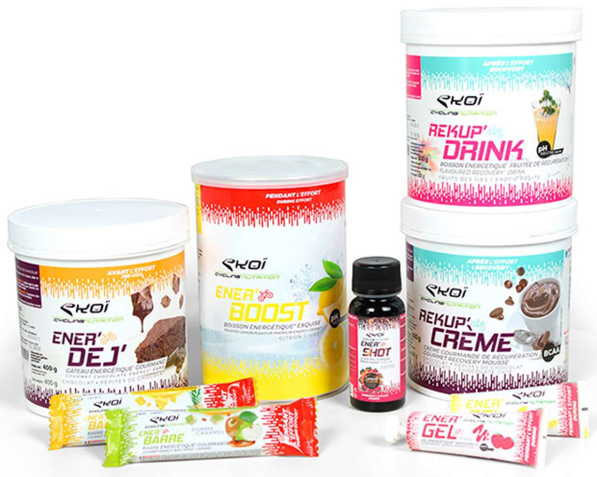 Nueva gama de suplementos alimenticios EKOÏ para antes, durante y después del ejercicio