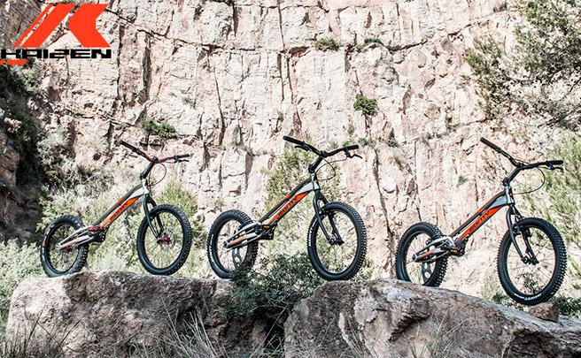 Monty Kaizen, una nueva gama de bicicletas de Trial con un denominador común: evolución