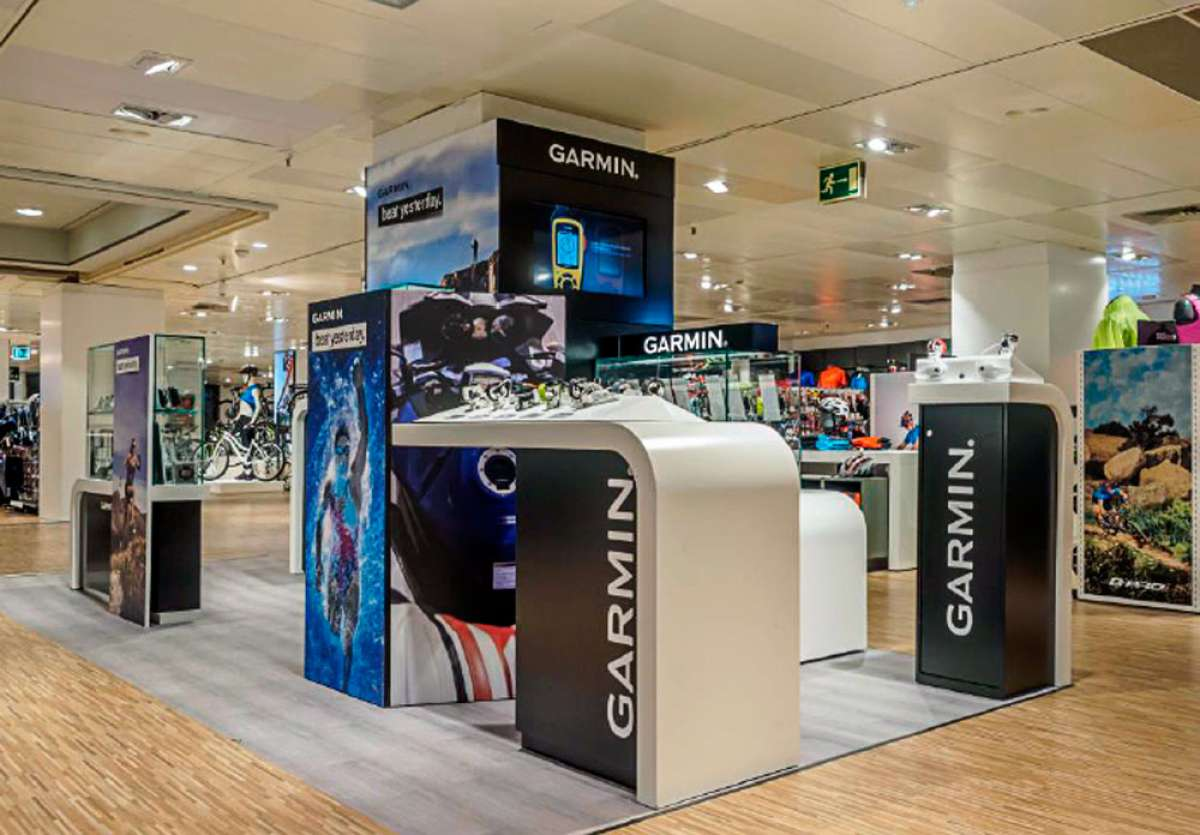 Garmin abre en España su primera tienda física en toda Europa