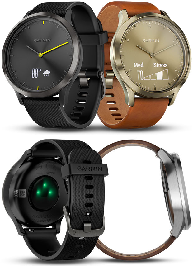 En TodoMountainBike: Garmin vívomove HR, un avanzado 'smartwatch' con pulsómetro integrado y estética clásica