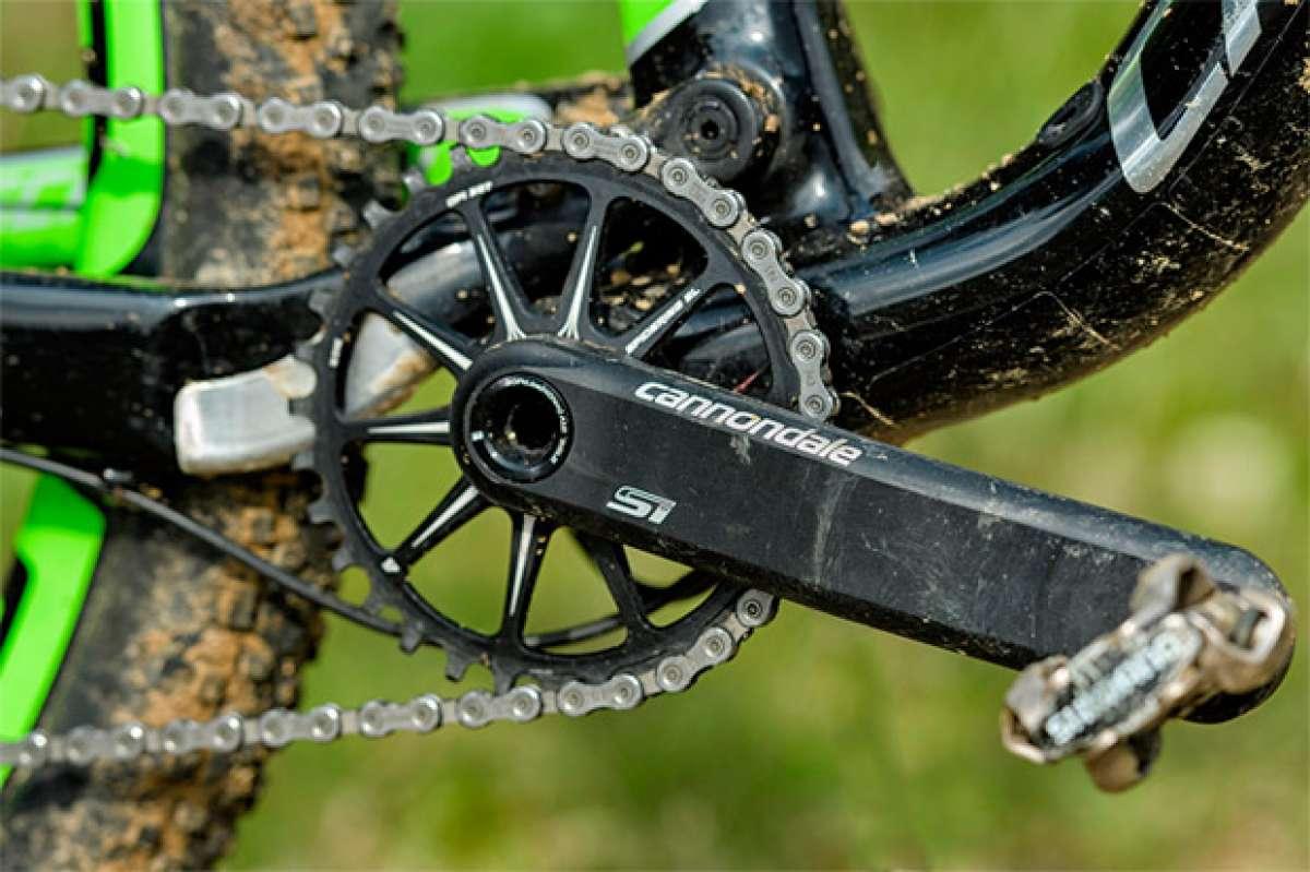 Nociones básicas sobre la geometría de una bicicleta: la altura del eje de pedalier
