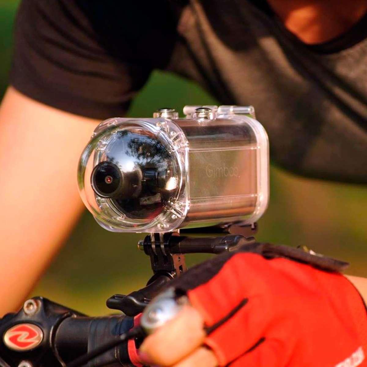 GimbalCam, una cámara de acción 4K con estabilizador mecánico de 3 ejes integrado