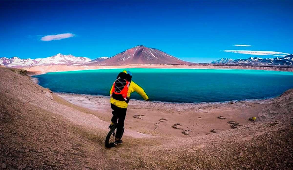 Explorando Chile en monociclo con Johannes y GoPro