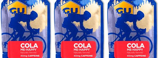 Llega el sabor Cola Me-Happy para los geles energéticos de GU Energy