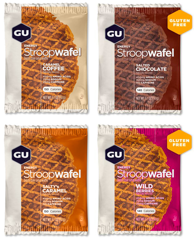 En TodoMountainBike: GU Stroopwafel, gofres energéticos para arrancar la jornada con las pilas cargadas