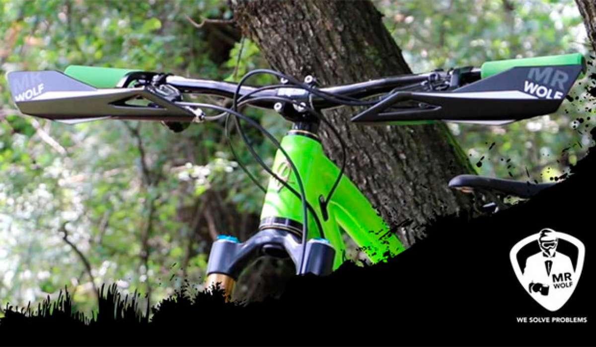 Manos siempre protegidas con los guardamanos para bicicletas MrWolf 'Recchie