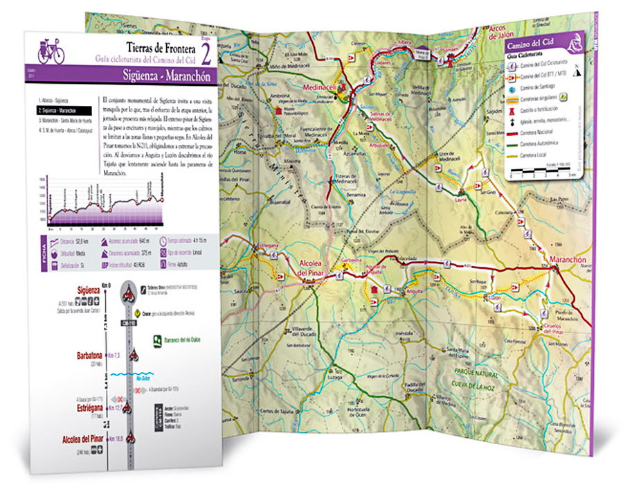 En TodoMountainBike: El Consorcio Camino del Cid publica diez guías digitales para cicloturistas de carretera