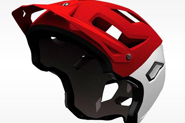 Hebo Origin, un polivalente casco de mentonera desmontable para amantes del All Mountain