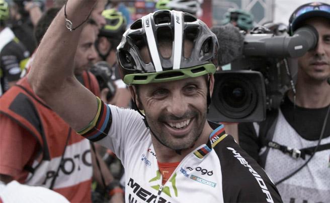Homenaje a José Antonio Hermida, leyenda del Mountain Bike español