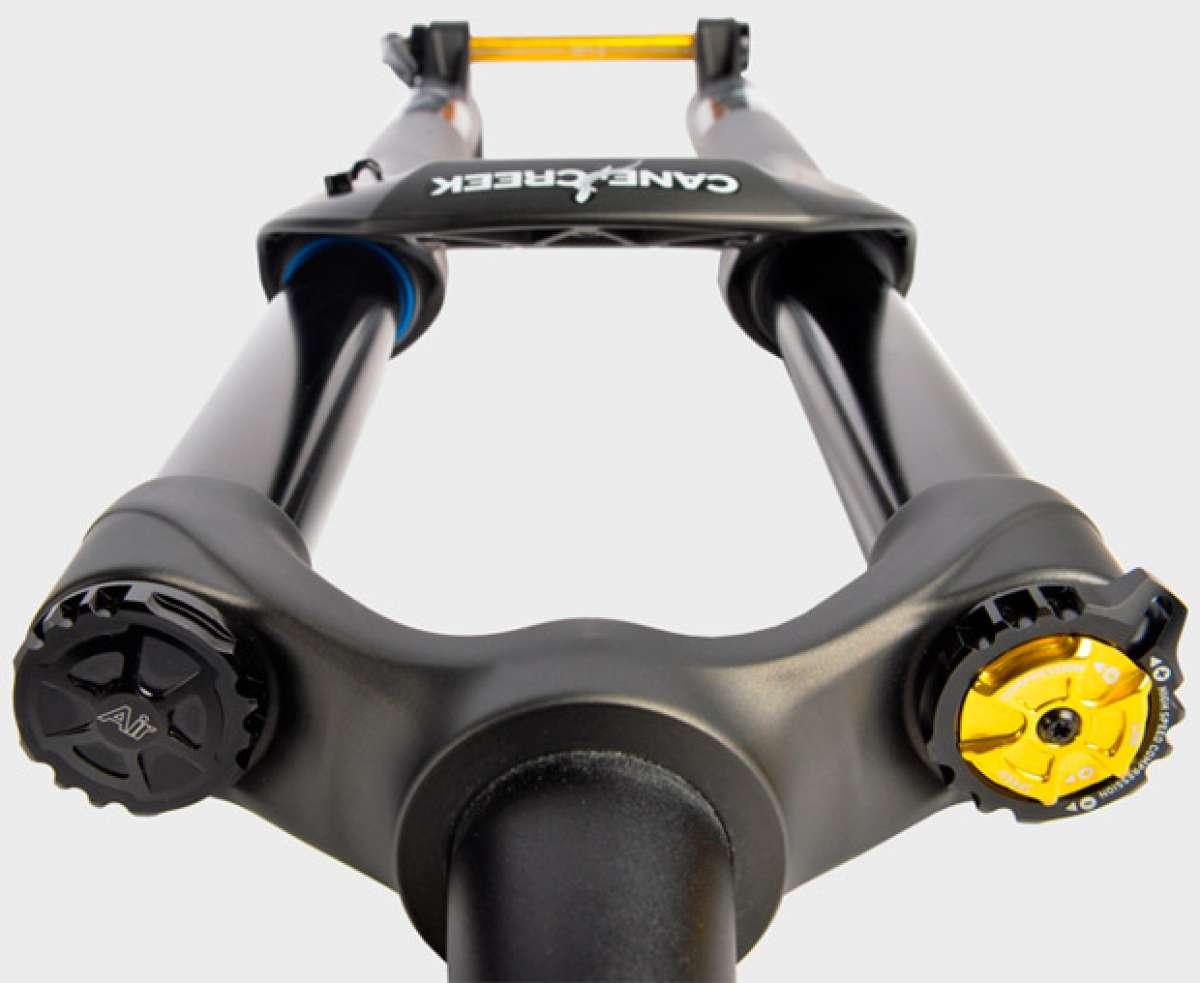Cane Creek Helm, la primera horquilla de suspensión del fabricante ya está aquí
