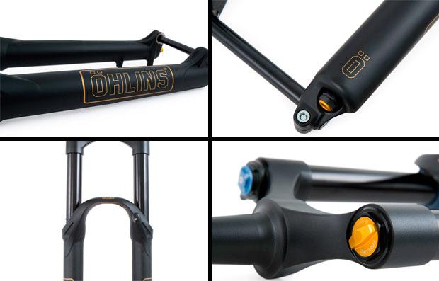 En TodoMountainBike: Rendimiento máximo para bicicletas 29er de Enduro con la horquilla de muelles Öhlins RXF36 COIL