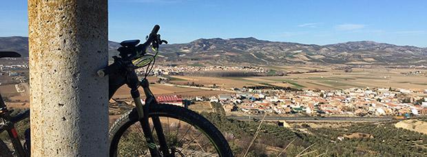 La foto del día en TodoMountainBike: 'Huétor Tájar (Granada)'