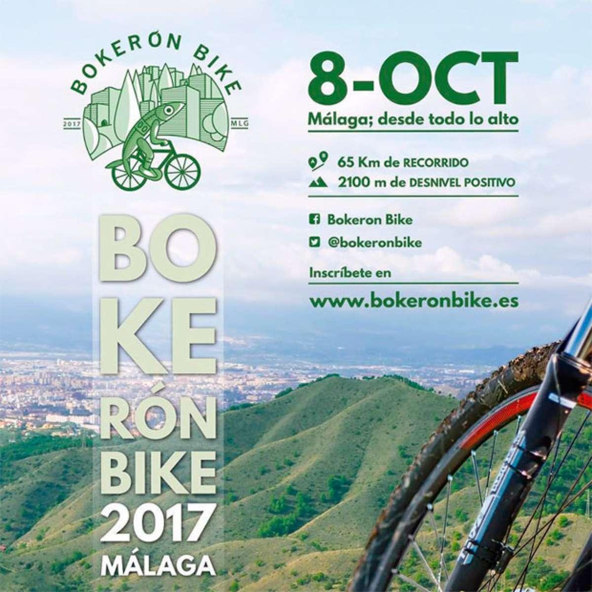 Abiertas las inscripciones para la Bokerón Bike Ciudad de Málaga 2017