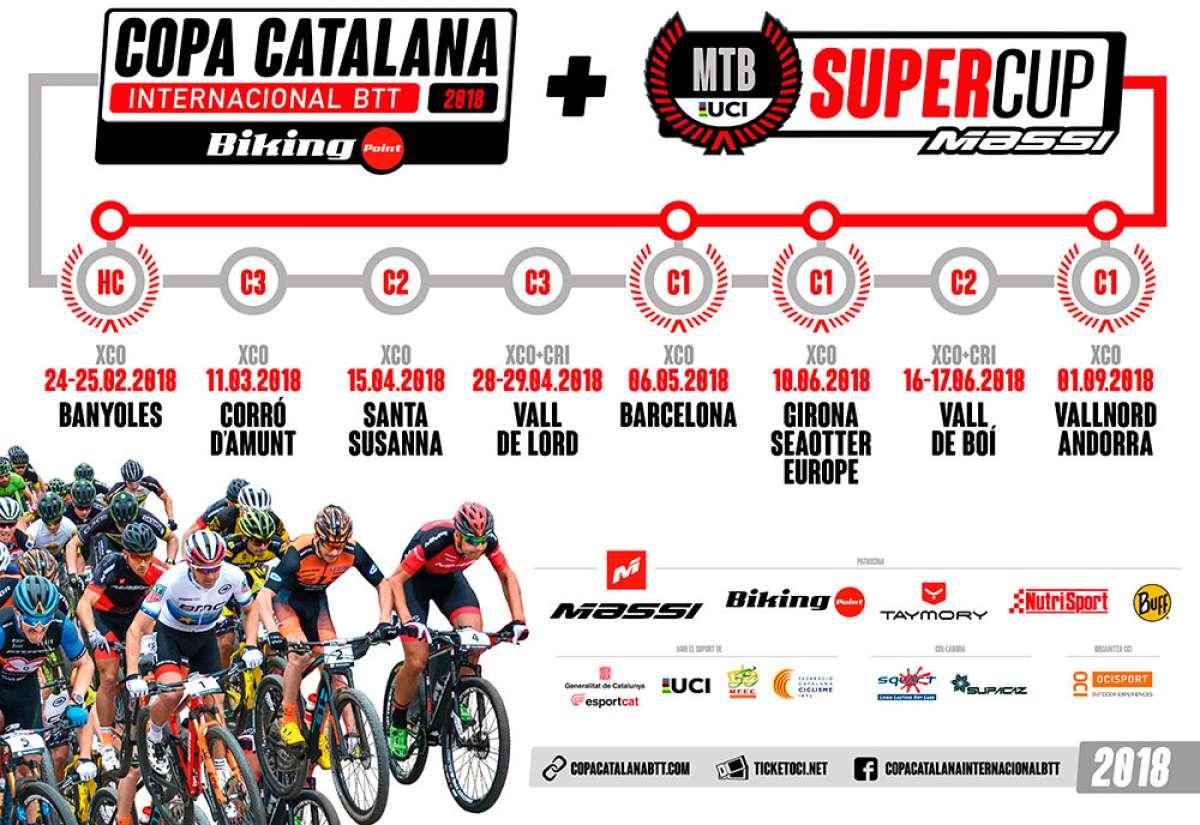 Calentando motores para la única prueba UCI HC de España: la Copa Catalana Internacional BTT de Banyoles