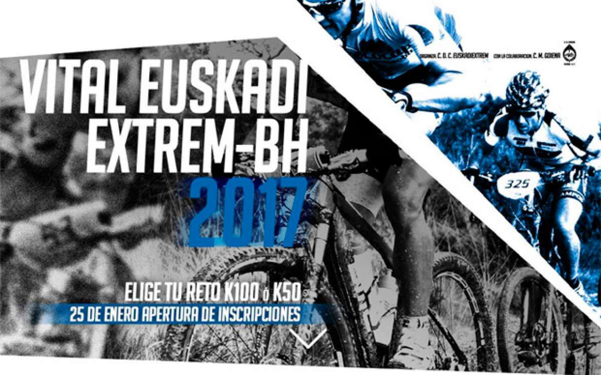 En TodoMountainBike: Se abren inscripciones para la Vital EUSKADIextrem-BH 2017