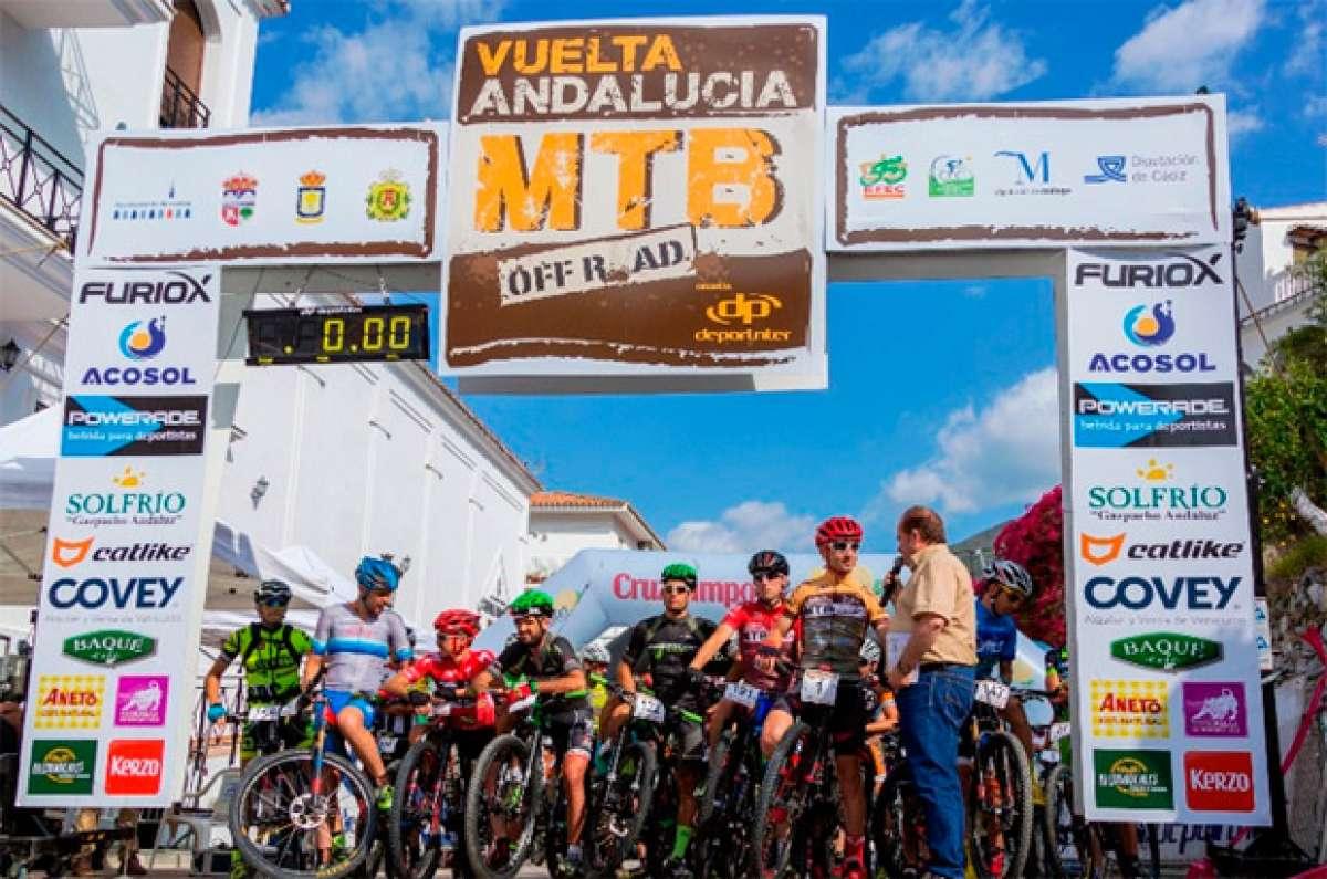 Vídeo promocional de la Vuelta Andalucía MTB 2017